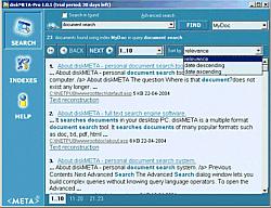 diskMETA-Pro Screenshot