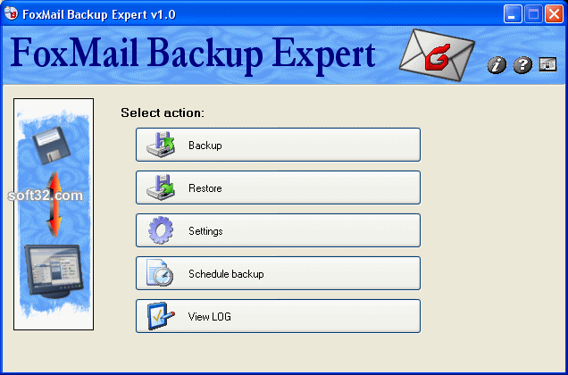FoxMail BackUp Expert Screenshot 1