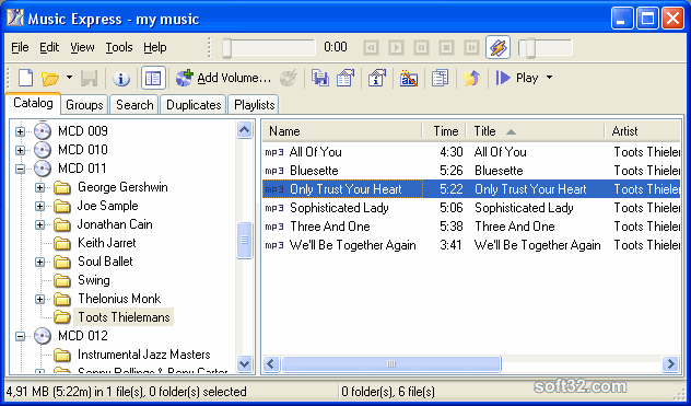 Music Express Screenshot 2
