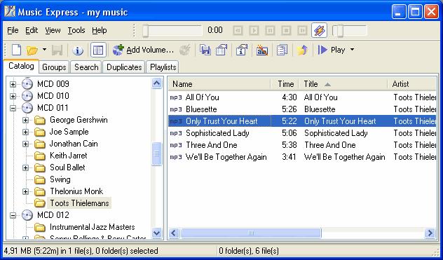 Music Express Screenshot 1