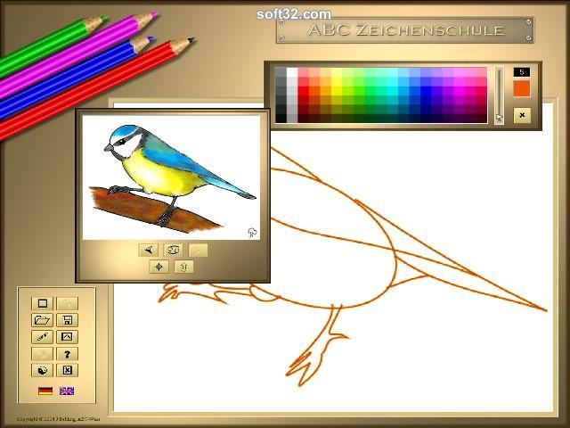 ABC Drawing School II - Birds Screenshot 3