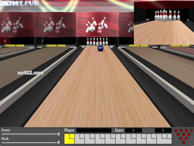 Powerhook Bowling Screenshot