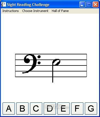 Sight Reading Challenge Screenshot 2