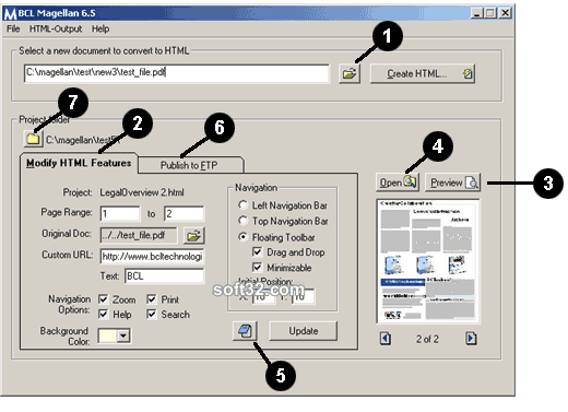 BCL Magellan Screenshot 2