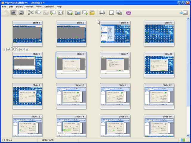 ViewletBuilder 4 Professional (Mac) Screenshot 2