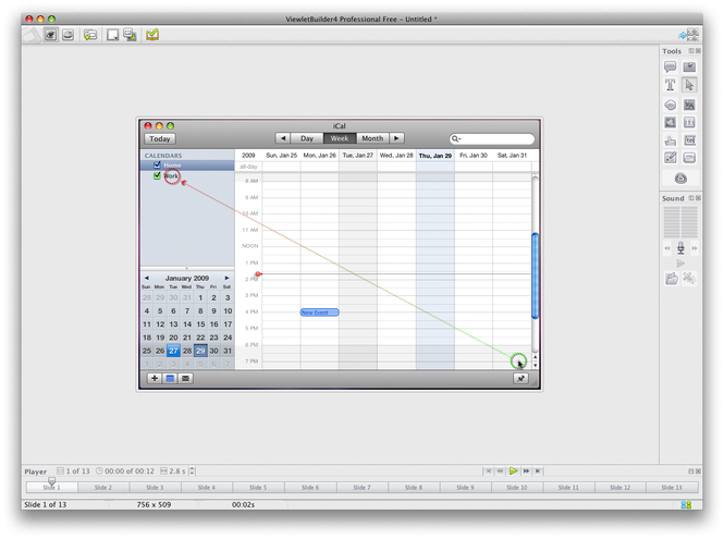 ViewletBuilder 4 Professional (Mac) Screenshot