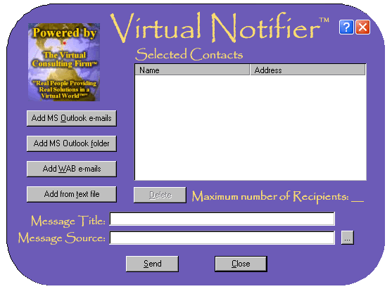 Virtual Notifier Screenshot 1