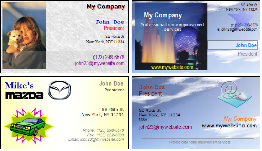 Belltech Business Card Designer Pro Screenshot 1