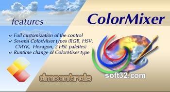 DMControls.ColorMixer .NET control Screenshot 2