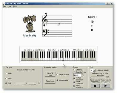 Step by step Note teacher Screenshot