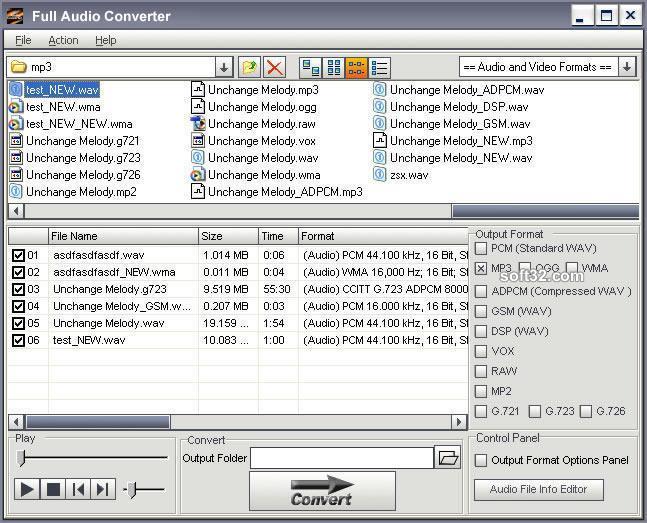 DanDans Audio Converter Screenshot 2