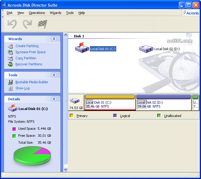 acronis disk director freeware
