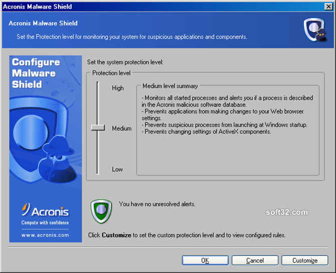 Acronis Privacy Expert Suite Screenshot 3