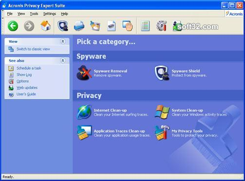 Acronis Privacy Expert Suite Screenshot 6
