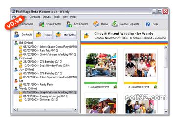 PixVillage - Online Photo Sharing Screenshot 3