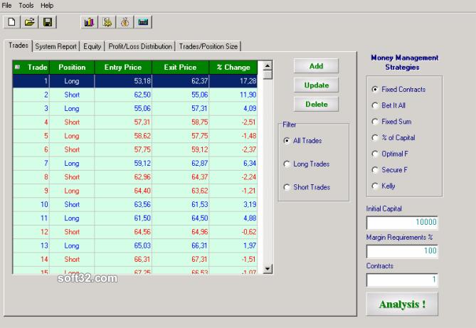 Money Management Explorer Screenshot 3