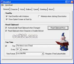 DeskBot Screenshot 2