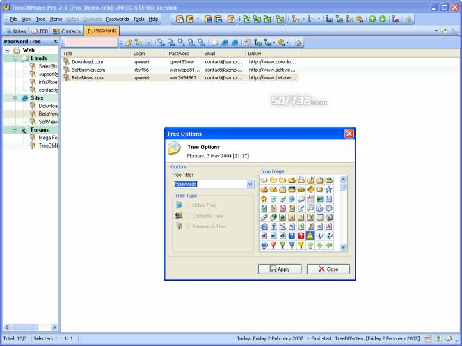 TreeDBNotes Pro Screenshot 5