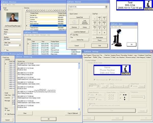 CallClerk Caller ID Software Screenshot 2