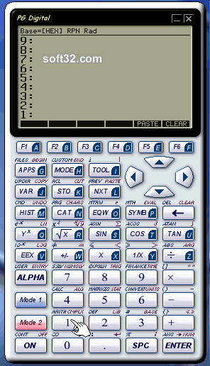PG Calculator (Second Edition) Screenshot 2