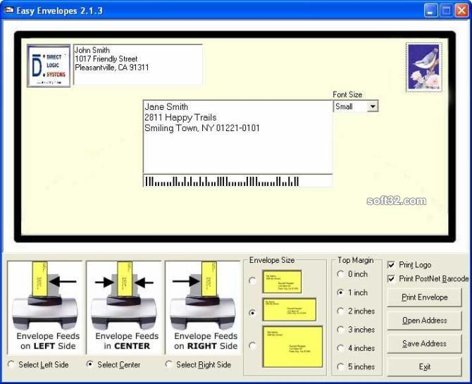 Easy Envelopes Screenshot 3
