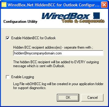 HiddenBCC for Outlook Screenshot 1