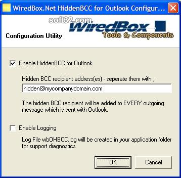 HiddenBCC for Outlook Screenshot 2