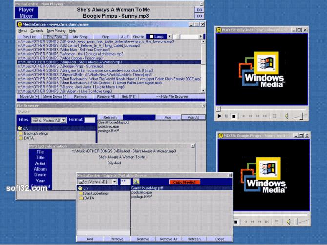 MediaCentre Screenshot 2