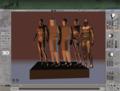 3D Virtual Figure Drawing Studio Male 1