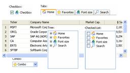 ActiveWidgets Screenshot