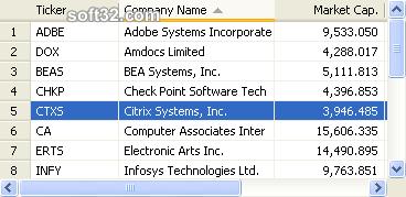 ActiveWidgets Screenshot 3
