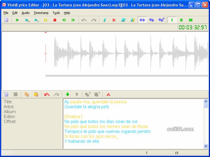 VividLyrics Screenshot 2