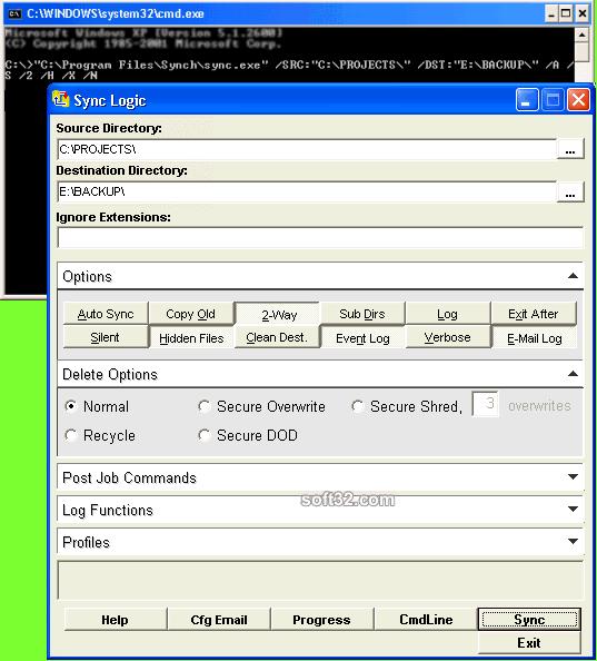 IPSyncLogic Screenshot 2