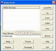 Mpeg Joiner Screenshot 2