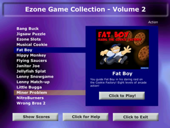 Ezone Game Collection Volume 2 Screenshot