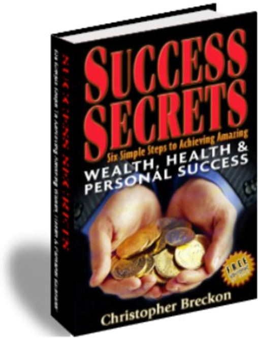 Success Secrets: Six Simple Steps Digital Edition Screenshot