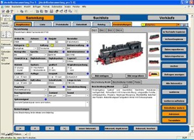 Modellbahnsammlung Pro Screenshot