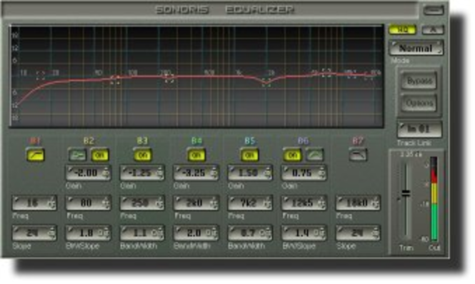 Sonoris Equalizer for SAWStudio Screenshot