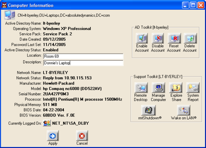 ITPro ToolKit Screenshot