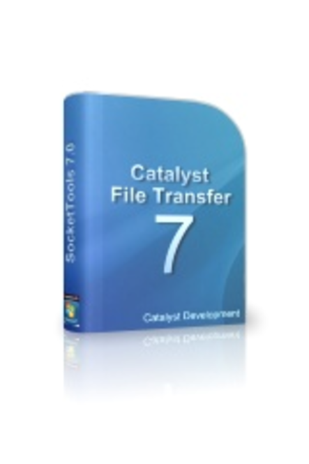 Catalyst File Transfer Control Screenshot