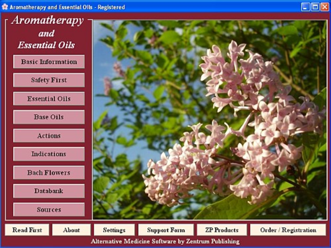 Aromatherapy and Essential Oils Screenshot 1