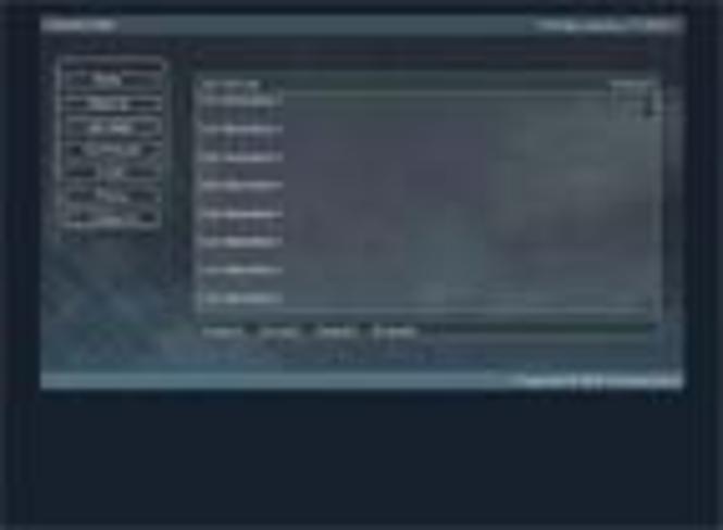 """Flash Template """"Tech"""" Screenshot"""