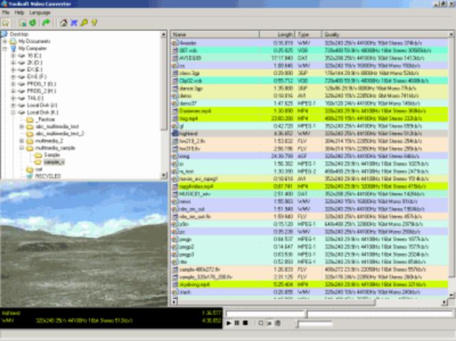 Softe WMV Converter Screenshot