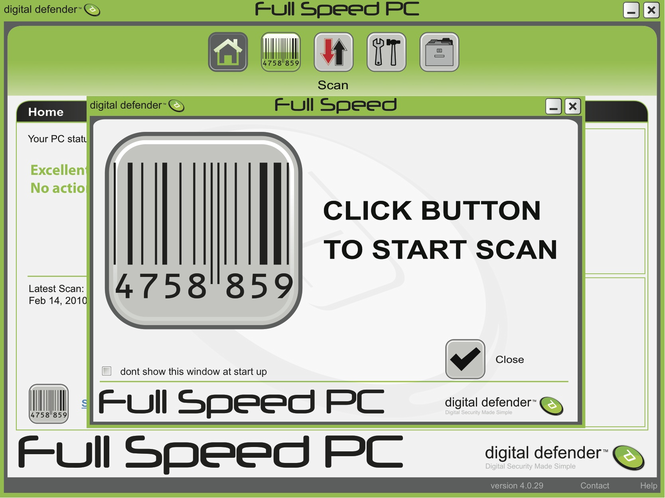 digital defender Fullspeed PC Screenshot 1