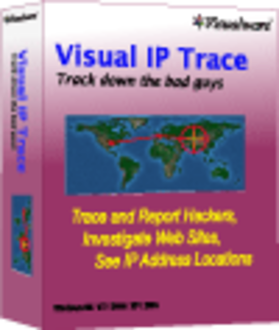 Visual IP Trace Standard Edition Screenshot 1