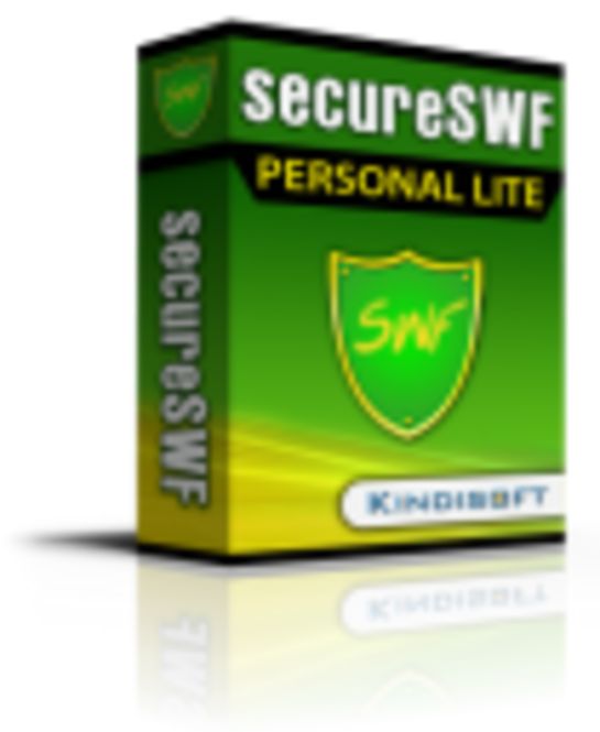 secureSWF Personal Screenshot