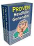 Proven Headline Generator 1