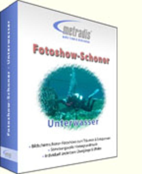 Fotoshow-Schoner - Unterwasser Screenshot 1