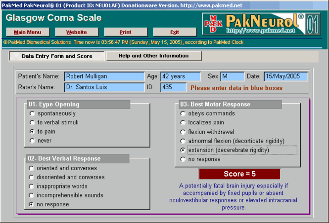 PakMed PakNeurol 01 Screenshot