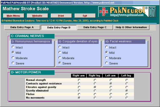 PakMed PakNeurol 07 Screenshot